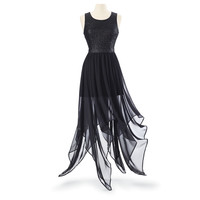 Handkerchief Hem Dress - New Age, Spiritual Gifts, Yoga, Wicca, Gothic, Reiki, Celtic, Crystal, Tarot at Pyramid Collection