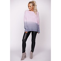 Walking On Air Knit Sweater (Pink)