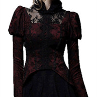 Enticing Emanation Victorian Gothic Women's Top