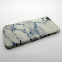 Unique Navy Marble Stone iPhone 7 se 5s 6 6s Plus Case Cover + Nice Gift Box 267