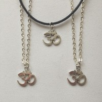 Subtle Om Necklace from Sightstone