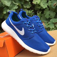 NIKE Women Men Running Sport Casual Shoes Sneakers Blue starry sky