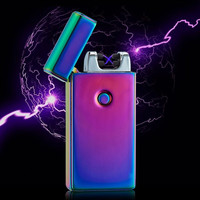 SPECIAL PRICE! Rechargeable Flame-less Electric Double Plasma Windproof Lighter