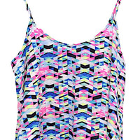 All The Rave Kaleidoscope Cami Top