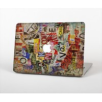 """The Torn Newspaper Letter Collage V2 Skin Set for the Apple MacBook Pro 13"""" with Retina Display"""