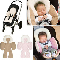 Baby's Car Seat And Strollers Reversible Safe Cushion