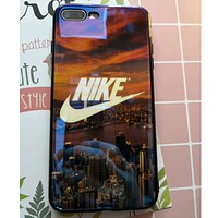 NIKE / ADIDAS iphoneX Blu-ray IMD+ scratch resistant mobile phone shell high quality soft shell F0219-1 NIKE