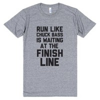 Run Like Chuck Bass Is Waiting For You At The Finish Line |