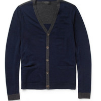 Rag & bone Elliot Fine-Knit Merino Wool Cardigan | MR PORTER