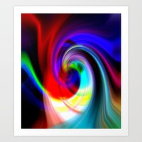 Euphoria Bliss Art Print by Gift Of Signs
