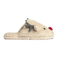 H&M Pile slippers $19.99