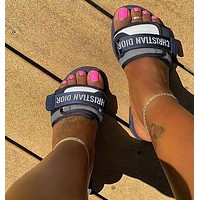 Dior Evolution Slide Casual Slippers Shoes