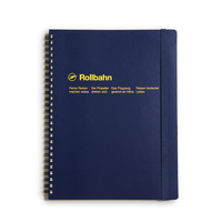 Rollbahn Large Notebook