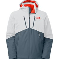 Gliks - The North Face Apex Elevation Jacket for Men in High Rise Grey/Conquer Blue