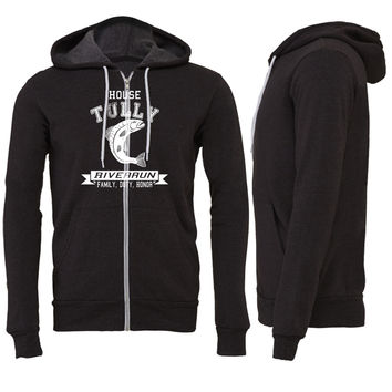 house tully Zipper Hoodie