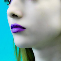 Violet Disaster Purple Lipstick Cosplay Gothic Makeup