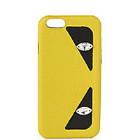 Fendi - Monster Saffiano Leather iPhone 6 Case - Saks Fifth Avenue Mobile