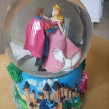 Disney Sleeping Beauty Musical Waterglobe by Enesco