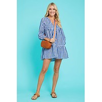 Social Threads Gingham Tiered Dress