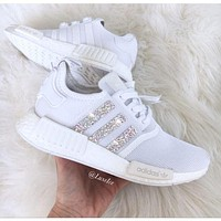 Hipgirls Adidas NMD personality fashion women's casual running sneakers F