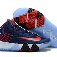 Nike Kyrie Irving 4  Navy/Red Sport Shoes US7-12