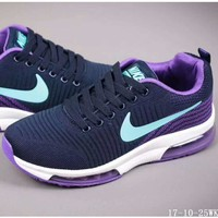 NIKE AIR MAX Fashion Breathable Sneakers Sport Shoes Purple I-A-YYMY-XY Tagre™