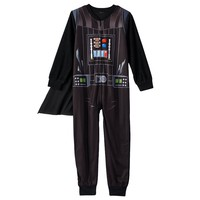 Star Wars Darth Vader Cape Pajamas - Boys