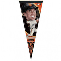 San Francisco Giants Buster Posey Caricature Premium Pennant