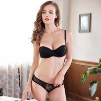 Bra Underwear Sexy Lace Ladies Set [296078311465]