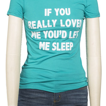 Girls  'If You Really' Graphic Tee
