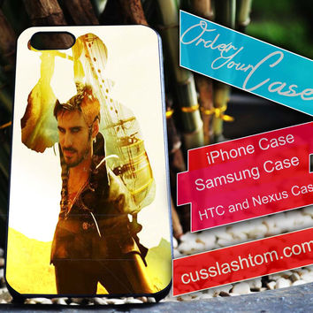 Exclusive Captain Hook iPhone for 4 5 5c 6 Plus Case, Samsung Galaxy for S3 S4 S5 Note 3 4 Case, iPod for 4 5 Case, HtC One M7 M8