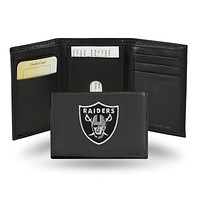 Credit Card Wallet Raiders Embroidered Trifold