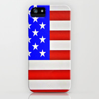 God Bless America ! iPhone Case by Irène Sneddon