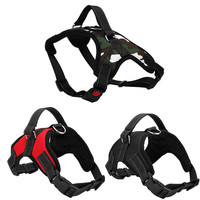 Dog Soft Adjustable Harness Pet Big Large Dog Walk Out Harness Vest Collar Hand Strap for Small Large Dogs Pitbulls