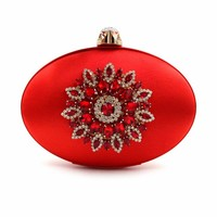 Casual Day Clothes Ladies Party Purse Women Bag Evening Bags Flower Clutch