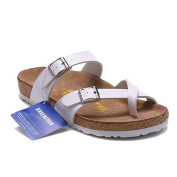 Men's and Women's BIRKENSTOCK sandals Mayari Birko-Flor 632632288-102