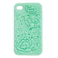 Embossed Floral Iphone 4 Case: Charlotte Russe
