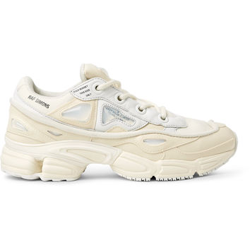 Raf Simons - +adidas Originals Ozweego Bunny Rubber, Mesh and Leather Sneakers
