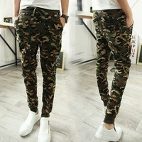 Camouflage Men's Skinny Joggers