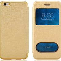 Flip Case with Screen use cut for iPhone 6\6s