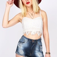Flower Bomb Crop Top   Cute Tops at Pink Ice