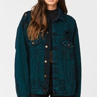 AUDREY OVERSIZED DENIM JACKET