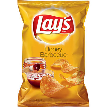 Walmart: Lay's Honey Barbeque Flavored Potato Chips, 9.5 oz