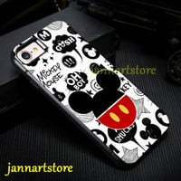 Disney Mickey Mouse Cute Design Cover Case High Quality For iPhone 7/7 Plus