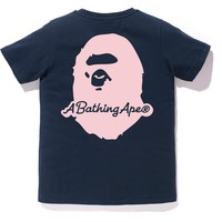 A BATHING APE PATCH TEE LADIES
