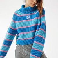 Lazy Oaf Striped Turtleneck Sweater | Urban Outfitters
