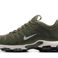Nike Air Max Plus Tn Ultra Sport Shoes Casual Sneakers - Olive Green