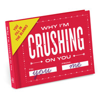 Knock Knock Why I'm Crushing on You Fill in the Love™ Journal