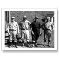 Boston Red Sox - Vintage image of players Postcard