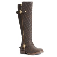 Candie's Women's Quilted Tall Boots